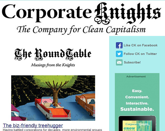 Online Communications – Corporate Knights Magazine