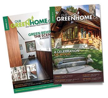 Publishing – Our Green Home
