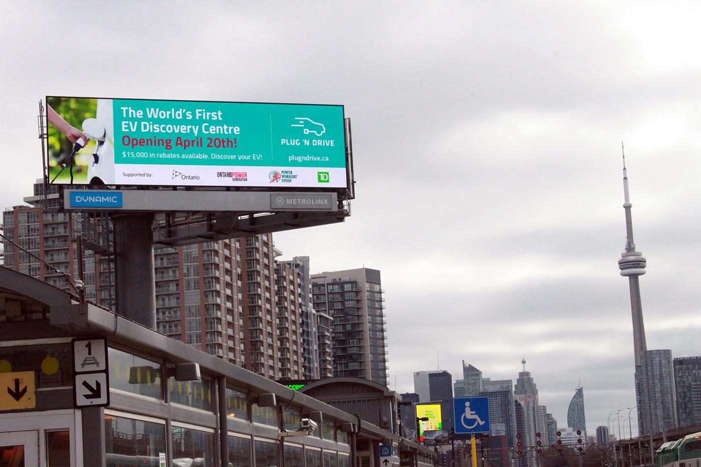 Plug'n Drive billboard