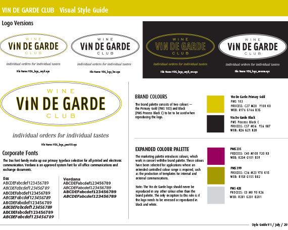 Brand Launch – Vin de Garde Wine Club