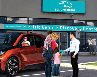 Multi-Platform Marketing – Electric Vehicle Discovery Centre