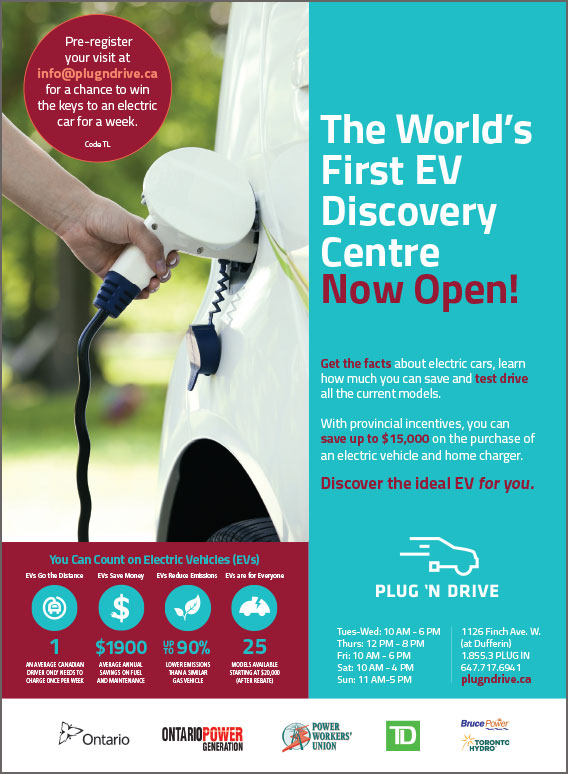 Plug'n Drive ad
